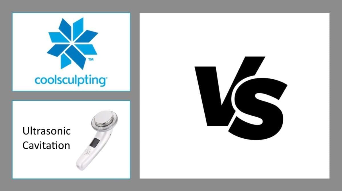 CoolSculpting vs ultrasonic cavitation
